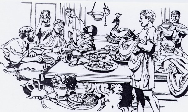 Eating And Drinking In Roman Britain Garum