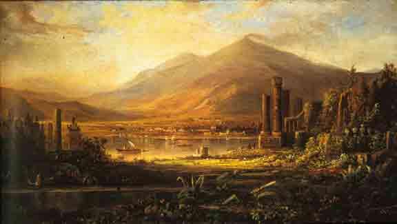 J Boog Schilders en Pompeii